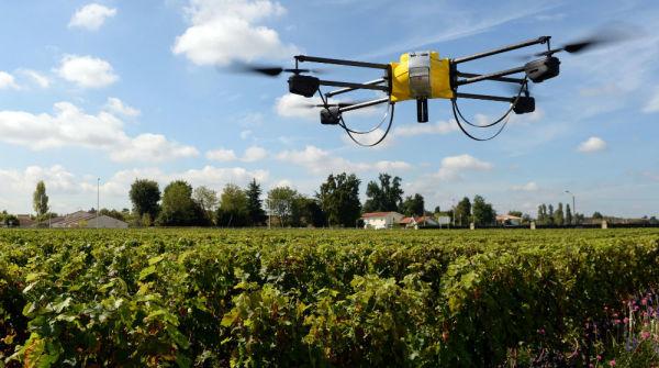 Esempio di droni in agricoltura - futuro della coltivazione