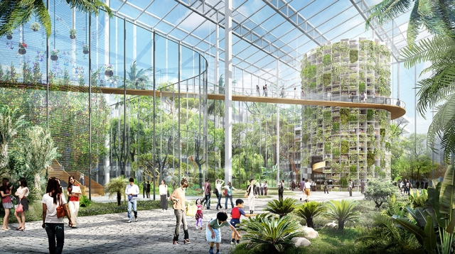 Sunqiao: il quartiere verde di Shanghai